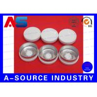 Buy cheap White Color Aluminum Plastic Cap , 10mL Chemistry Aluminium Bottle Caps from wholesalers
