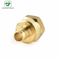 Buy cheap 3/4''X1/2 FNPT Brass Female Adapters Brass Hose Connector from wholesalers