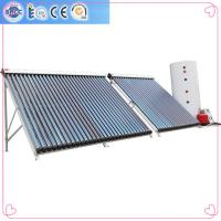 Buy cheap Aluminium alloy evacuated tubes Split pressurized solar water heaters from wholesalers