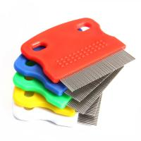 Buy cheap Pet Fine Toothed Flea Comb Cat Dog Grooming Steel Small Brush New from wholesalers