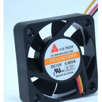 Buy cheap FD124010MB FD124010HB 8500RPM Industrial Ventilation Fans from wholesalers