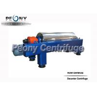 Buy cheap 2 Phase Continuous Decanter Centrifuge Horizontal Fruit Juice Decanter Centrifuge from wholesalers