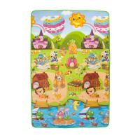 Buy cheap factory whole sale non-toxic baby playmat crawling mat for babies toddlers infants camping mat beach mat from wholesalers