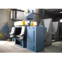 Buy cheap Customized Rubber Belt Wheel Blast Machine for Heat Treated Parts from wholesalers