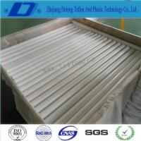 Buy cheap 20mm pure white extruded PTFE rods from wholesalers