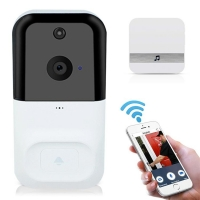 Buy cheap White Home Smart 5V Power 2.5mm Wireless Doorbell Camera from wholesalers
