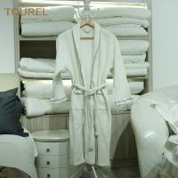 Buy cheap Plush Terry Cloth Bathrobes Mens Towelling Bathrobe Hook Waffle Bathrobe from wholesalers