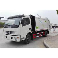 Buy cheap Dongfeng 4*2	Garbage Compactor Truck 120Hp Self Loading and Discharge Garbage Truck from wholesalers