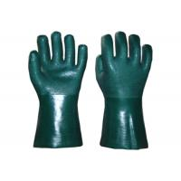 Buy cheap Heavy Duty PVC Coated Gloves Sandy Finish With Extra Grip Long Lifetime from wholesalers