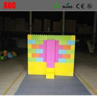 Buy cheap 2018 Colorful hotsale kids building blocks plastic giant plastic blocks diffrent size toys gift outdoor bedroom from wholesalers