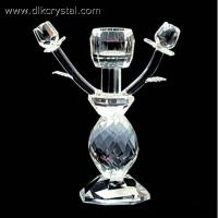 Buy cheap crystal candle holder Glass candle holders ,crystal candle stick votive candle holders craft pulicrystal-330 from wholesalers