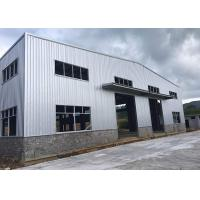 Buy cheap Epoxy Resin Paint Prefabricated Steel Structure Warehouse GB Standard Recyclable from wholesalers