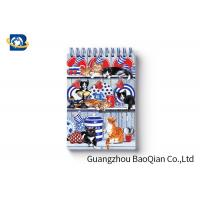 Buy cheap Spiral Binding 3D Lenticular Personalised Stationery Notebooks Cartoon Pet Hardcover from wholesalers