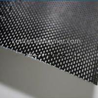 Buy cheap New quality self-adhesive Carbon fiber sheet/Glossy Carbon fiber sheet from wholesalers