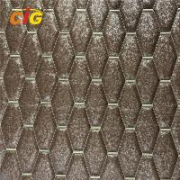 Buy cheap Shiny Surface Designs PVC Artificial Leather With High Density Foam product