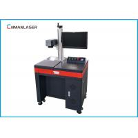 Buy cheap Air Cooling Desktop Optical Fiber Laser Marking Machine For LED Bulb Logo from wholesalers