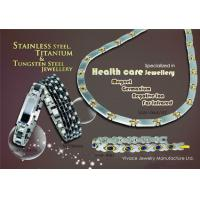 Buy cheap Fashion titanium or stainless steel tmagnetic bracelet health, TUV , SGS report product
