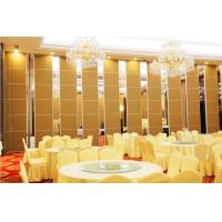 Buy cheap Banquet Hall Acoustic Room Dividers , Floor to Ceiling Sliding Partition Wall from wholesalers