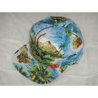 Buy cheap Floral Hawaii Printing Snapback Baseball Caps Fashion Full Print Hats from wholesalers