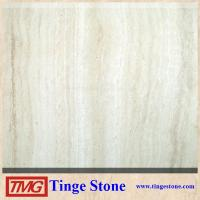 China Hot Sal Iran Beige Travertine Tile With Good Price on sale