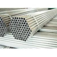 Buy cheap Hot Dipped Round Steel Pipe / GI Pipe Pre Galvanized Steel Pipe Tube 5.8m 6m Length from wholesalers