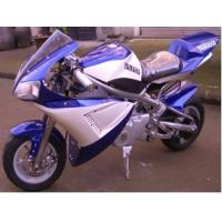Buy cheap Pocket Bikes 110cc,single cylinder, 4-stroker,air-cooled ,electric+kick start,good quality from wholesalers