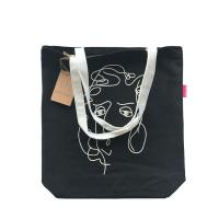 Buy cheap Handed Long Handle Plain Canvas Tote Bags For College Heavy Duty Medium Size from wholesalers