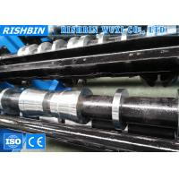 Buy cheap High Frequency Floor Metal Deck Roll Forming Machine with 45 # Steel product