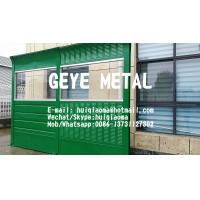 Buy cheap Reflective & Absorptive Metal Combined Acoustic Noise Barrier Wall, Sound Insulation Fences from wholesalers