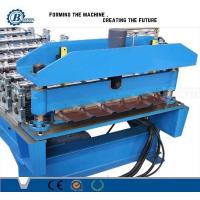 Galvanized Steel Roof Panel Roll Forming Machine Hydraulic System For Automotive