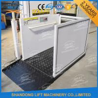 Buy cheap Portable Handicap Lift Equipment Electric Vertical Residential Wheelchair Lifts For Home from wholesalers