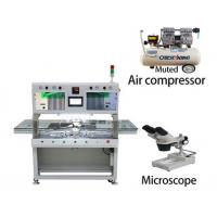 Buy cheap Titanium Thermode LCD Tab Bonding Machine X Y Z Micrometer Three Axis Adjustment from wholesalers