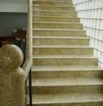 Buy cheap G682 Sunset Gold Yellow rustic granite floor tiles , granite marble slabs from wholesalers