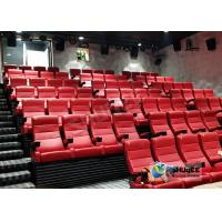 Buy cheap Customized Shopping Mall 4D Movie Theater With Ring Screen / Flat Screen from wholesalers