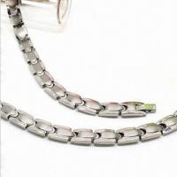 Buy cheap Stainless Steel Necklace, Bio 3000 Gauss Magnet Germanium, FIR Negative Ion 4-in-1 product