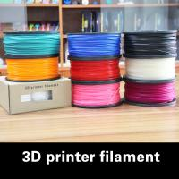 Quality Light Gray 3mm PLA Filament Roll , 1.75mm Extruding Plastic Filament for sale
