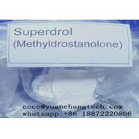 Buy cheap Superdrol Powder /Methyl-drostanolone,Raw Steroid Anabolic Hormone Powders for bodybuilding from wholesalers