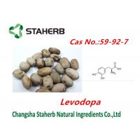 Buy cheap Concentrated plant Mucuna pruriens extract Levodopa powder cas no.59-92-7 from wholesalers