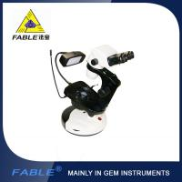Buy cheap Cup dolly Generation 2nd  Swing arm type Gem Microscope With F07 binocular lens product