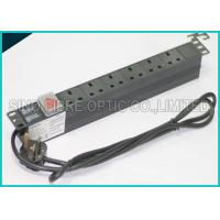 Buy cheap Power Distribution Unit 6 Way UK Socket 19 Horizontal Rack PDU C14 Plug from wholesalers