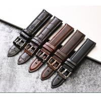 Buy cheap Adjustable Genuine Leather Watch Band Replacement Durable With 20mm Width from wholesalers