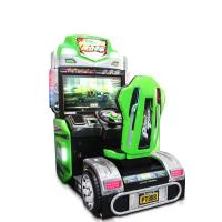 Buy cheap Coin Operated Racing Game Machine Arcade Style Racing Games With HD LCD Screen from wholesalers
