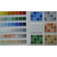 Buy cheap Iridescent swimming pool mosaic tile for decoration from wholesalers