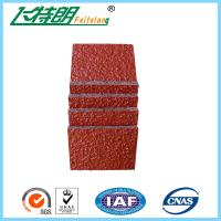 Buy cheap Full Polyurethane PU Rubber All Weather Synthetic Sports Surfaces UV Resistance from wholesalers