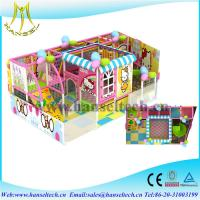 Buy cheap Hansel top sale soft play houses indoor and outdoor for children from wholesalers