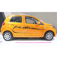 China Range 180-200 Km Electric Powered Vehicles , 72V 5KW Motor Power Yellow Automatic Electric Car on sale