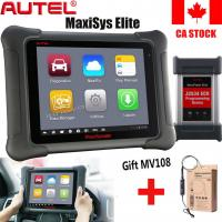 Buy cheap New  Autel MaxiSYS Elite OBDII Car Tools Diagnostic Scanner ECU Program J2534+MV108 2GB RAM & 32GB Embedded Memmory from wholesalers