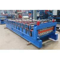 Buy cheap IBR Corrugated Roof Sheeting / Panel Tile Roll Forming Machinery SGS certification from wholesalers