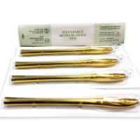Buy cheap Golden Luxury 45°Angle Blister Manual Pen With 9 12 14 17 18U Needle Single from wholesalers