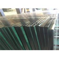 Buy cheap Clear Tempered Safety Glass 3mm - 19mm Toughened Glass For Partition Wall from wholesalers